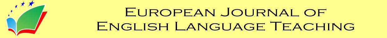 European Journal of English Language Teaching